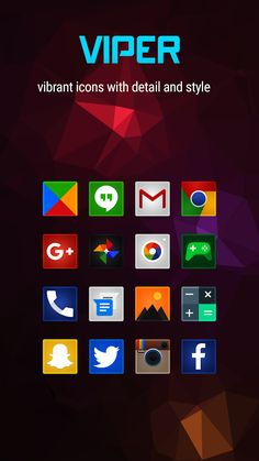 Apklio - Apk for Android: Viper Icon Pack v4.3.6 apk