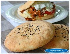 Glutenfreier Döner! Himmlisch weiches Fladenbrot, saftig gefüllt mit typischen Zutaten! www.rezepte-glutenfrei.de