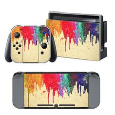 Bleeding Colors Skin - Nintendo Switch #nintendoswitch