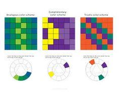 Practice color schemes