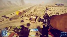 Battlefield 3 GIF via Reddit user empw - crazy landing