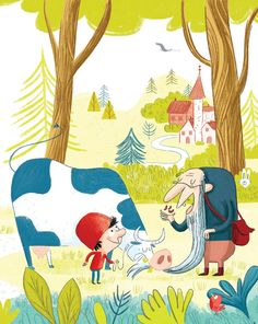 """Published work """"Jacques et le haricot magique"""" avec Magdalena aux Editions Flammarion"""