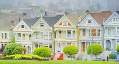 The Victorian houses of Alamo Square...There's Not One Home for Sale in San Francisco That an Average Teacher Can Afford