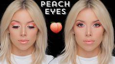 Peachy Keen Eye Makeup Tutorial | LustreLux