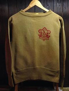 40's BSA(Boy Scout Of America) Vintage Sweat