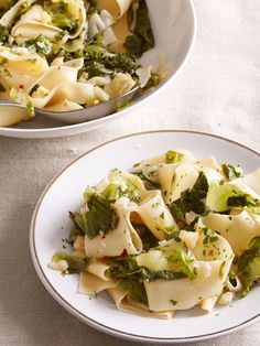 Pappardelle with Escarole