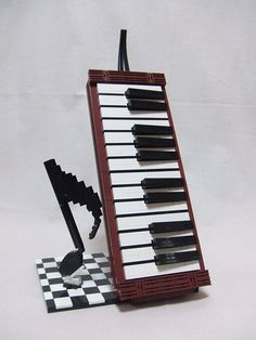 LEGO Melodica (detail) | Flickr - Photo Sharing!