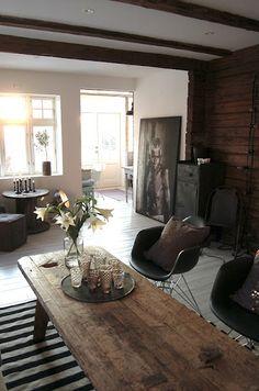 large art - wood tables