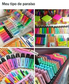 Ugh i need these Stationary Store, Stationary Supplies, Stationary School, Cute Stationary, School Stationery, Cool School Supplies, Craft Supplies, School Suplies, Desk Organization