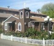 The Little Brown Church, Studio City,  where Roy and I got married in 1982. Oh, Ronny and Nancy got married here too!