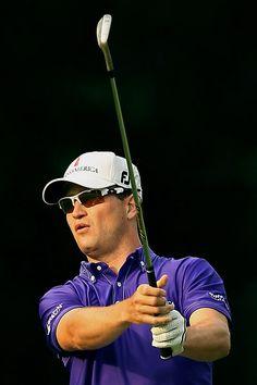Drake University graduate and Cedar Rapids, Iowa native Zach Johnson, PGA golfer extraordinaire