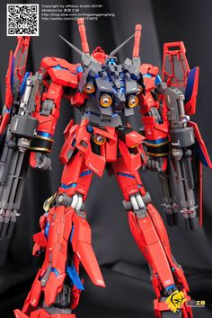 Unicorn Gundam Neo Zeon Type - Custom Build Modeled by afflatus studio Gunpla Custom, Custom Gundam, Robo Transformers, Unicorn Gundam, Man Of War, Gundam Model, Mobile Suit, Toys Photography, Plastic Models