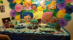 My daughters 2nd bubble guppies theme birthday party.