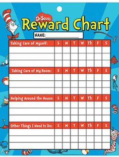 Reduce mom stress with chore charts!