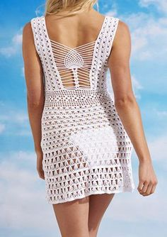 cover-up crochet/inspiration for back detail- would love this in a top as well