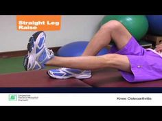 Learn how to manage knee osteoarthritis with appropriate exercises and advice.      This Singapore health video is brought to you by SGH and SingHealth, the largest healthcare & hospital group in Singapore.    Health Videos: http://www.youtube.com/singaporehealth  Singapore Health Website: http://www.singhealth.com.sg    Subscribe to be notified...