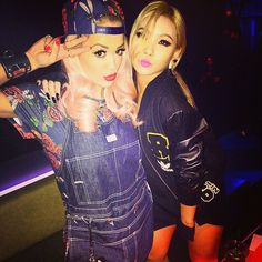 CL and Rita Ora ♥