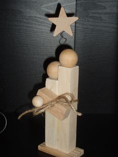 Baby Jesus Crafts   Wood Scrap Mary, Joseph & Baby Jesus, Christmas Crafts ...   crafts--wonder if you could make these out of Jenga pieces?