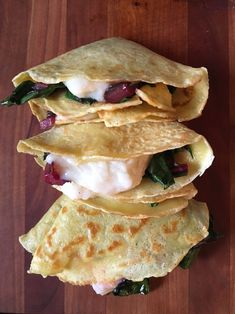 As a fun appetizer or side, these veggie-filled savory crêpes are made with dairy free milk and filled with a dairy free cheese. Dairy Free Cheese, Dairy Free Milk, Crepe Recipes, Brunch Recipes, Savory Crepes, Vegetable Seasoning, Best Appetizers, Dairy Free Recipes, Tasty