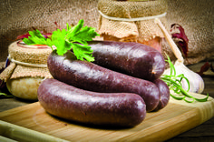 Krupniok echt polnische Blutwurst - Buy this stock photo and explore similar images at Adobe Stock Cornish Pastry, Vinaigrette, Steak And Kidney Pie, Croq Kilo, Beans On Toast, Le Boudin, Black Pudding, Beef And Potatoes, Lentils