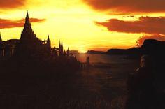 Last Kingdom by DigitalSummit on DeviantArt Fantasy City, Create Photo, Coding, Deviantart, Sunset, Digital, Awesome, Outdoor, Lady