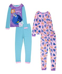 Look what I found on #zulily! Finding Dory Bubbles Four-Piece Pajama Set - Kids by AME #zulilyfinds