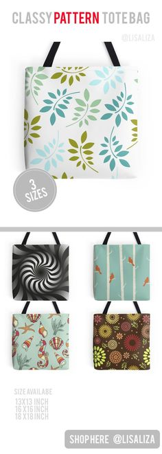 Explore a wide range of tote bag design from lisaliza@Redbubble Store. Shop tote bags in original artwork carry them everyday everywhere you go  Show Your Personality !  All artwork printed on High Quality and durable totes. 3 Sizes available . Get one No