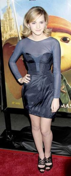 Emma Watson at the premiere of Universal Pictures The Tale of Despereaux