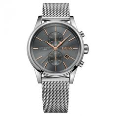 0dc87da30 Buy Hugo Boss 1513440 mens bracelet watch, Silver Silverlic for just: House  of Fraser Currently Offers: Hugo Boss 1513440 mens bracelet watch, ...
