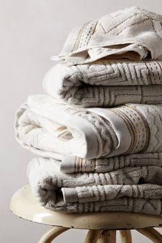 Windstream Towel Collection - Anthropologie August 2014