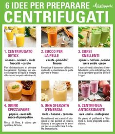 Centrifugati Healthy Juices, Healthy Smoothies, Healthy Drinks, Smoothie Recipes, Healthy Eating, Detox Recipes, Raw Food Recipes, Healthy Recipes, Health And Fitness Apps