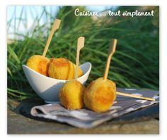 Croquettes au Kiri - Cuisiner... tout Simplement, Le Blog de cuisine de Nathalie