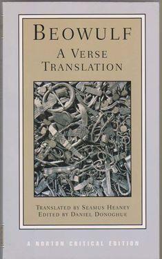 beowolf rare book | ... , DANIEL  SEAMUS HEANEY (TRANS.), Beowulf a Verse Translation