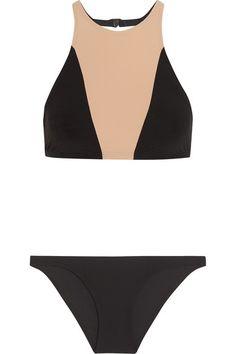 9cd71de0462df Flagpole - Shay cutout two-tone bikini. Cute SwimsuitsBeachwearSwimwearGood  ...