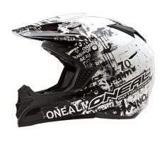 O /'Neal 2 Series SPYDE Nero Neon Giallo Casco Crosshelm MX MOTOCROSS CROSS ENDURO