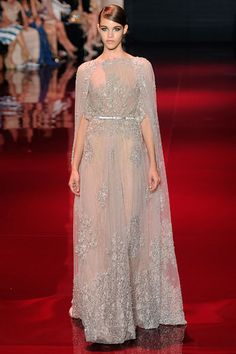 Elie Saab's Fall 2013 couture show. Photo by Getty Images.