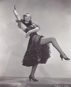 Eleanore Whitney - c.1937, via Flickr.  www.chicagotaptheatre.com