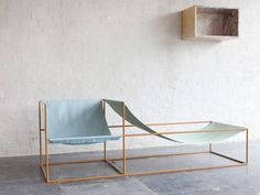 Muller van Severen seat in blue and green, Ventura Lambrate 2013 | Yellowtrace. [outdoor ok?]