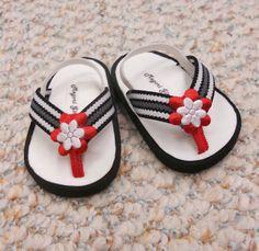 American Girl Shoes fits 18 Doll  Flip Flop Sandals by MegOriGirls, $9.00