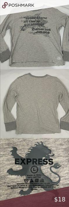 NEW $35 ANN TAYLOR LOFT Striped Cold Shoulder Long Sleeve Tee S M L