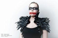 Victoriaanse veer Bolero Gothic zwart ruffle door DeadDollsShop