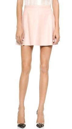 Love Leather The Legs Legs Legs Skirt - Blush