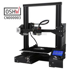 cheap printer Creality Upgraded Tempered Glass Optional,V-slot Resume Power Failure Printing DIY KIT Hotbed Cheap 3d Printer, 3d Printer Kit, 3d Printer Parts, Best 3d Printer, Rhino 3d, 3d Design Software, 3d Scanners, Diy 3d, Prusa I3