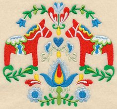 Swedish Folk Art - Dala Horse