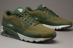 Nike Sportswear Air Max 90 Ultra Moire - Medium Olive / Carbon Green / Carbon Green