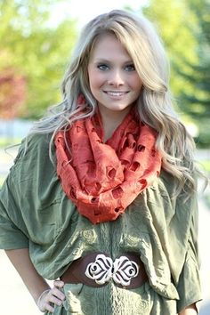 Shop Women's Trendy Scarves, Handkerchiefs and Blanket Scarves. Nanamacs Boutique, Great Women, Fashion Seasons, Keep Warm, Fall Dresses, Rust, Infinity, Winter Fashion, Scarves