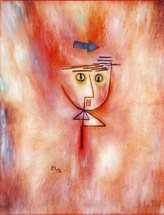 Paul Klee - Nearly Hit (Fast Getroffen), 1928