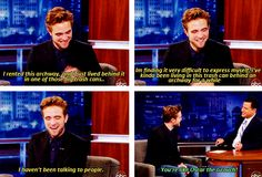 When he said he lives in a trashcan despite owning a $6 million house. | 26 Times Robert Pattinson Was A Total Freakin' Weirdo