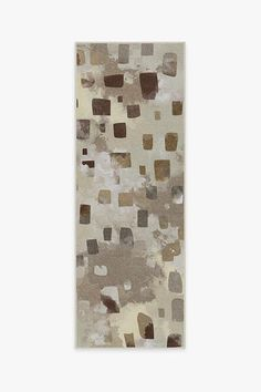 Watercolor Paintwork Neutral Rug | Washable Rug | Ruggable