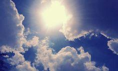 Bright sky.